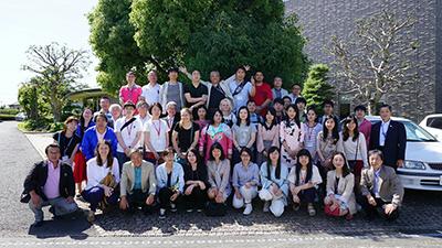 米山奨学生の研修旅行