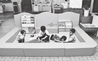 ひたちなか市役所内2カ所 玩具&絵本含むキッズスペース一式の寄贈